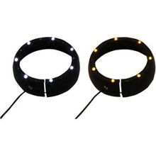 Custom Dynamics - Lighted Passing Lamp Trim Ring '96-'05 FLHT - Black