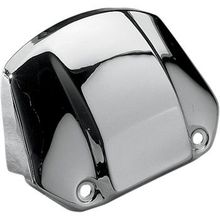 Drag Specialties - Headlight Visor without Hole - '86-'91 XL FX -