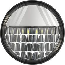 """Drag Specialties - 4.5"""" LED Passing Lamp - Chrome"""
