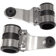 Emgo - Headlamp Bracket - Chrome