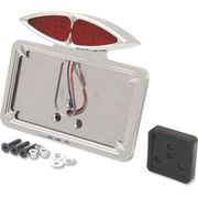 Drag Specialties - Taillight/License Plate Mount - Cateye