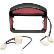 Cycle Visions - Tailight Eliminator - Faceplate & Light Assembly ONLY - Black