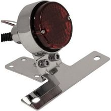 Emgo - Taillight/License Plate Mount - Chrome