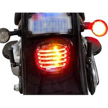 Custom Dynamics - Taillight/Turn Signal - Smoke Lens