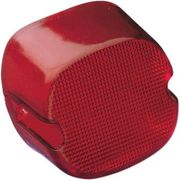 Drag Specialties - Taillight Lens - Bottom Tag Window - Red