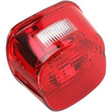 Drag Specialties - Laydown Taillight Lens - Red