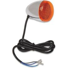 Chris Products - Turn Signal - LED - Chrome/Red