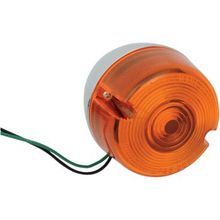 Chris Products - Rear Turn Signal Assembly - Amber - Single Filament