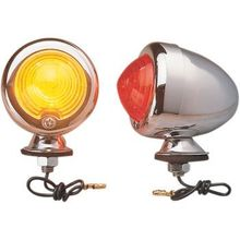 Drag Specialties - Replacement Red Lens for Bullet Light