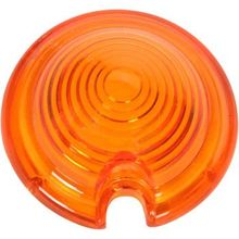 Drag Specialties - Replacement Amber Lens for Bullet Light