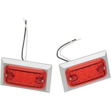 Chris Products - Marker Lights - Dual Filament - Red