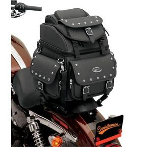 STUDDED BR1800EX/S COMBINATION BACKREST/SEAT/SISSY BAR BAG