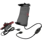 Ram Mount - Device Holder - Quick-Grip™ - Charging - Wireless - Waterproof - Hardwire Charger
