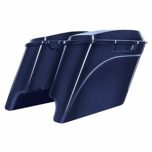 "'94-'13 Touring 4"" Stretch Saddlebag Big Blue Pearl"