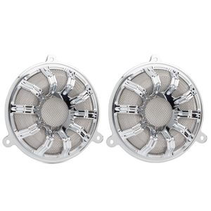 10-Gauge Forged Billet Speaker Grill - Chrome