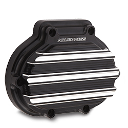 Arlen Ness 10-Gauge Transmission Side Cover - Black