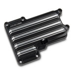Arlen Ness 10-Gauge Transmission Top Cover - Black
