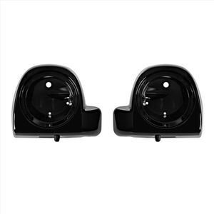 "'14- Present OEM Lower Vented Fairing 6.5"" Speaker Pods Vivid Black"