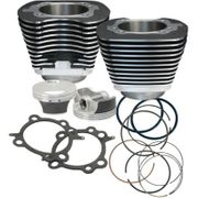 S&S Cycles Big Bore Cylinder Kit- Twin Cam
