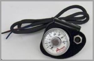 160 PSI Air Gauge and Toggle Switch Assembly