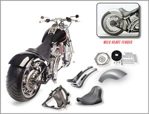 250 Wide Tire Kit for Softail Models