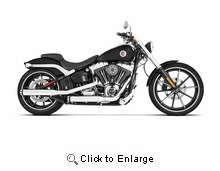 """3"""" Slip-Ons for Softail 07'-17'"""