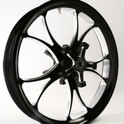 3D Black Contrast Lawless Wheel For 14-18 Touring