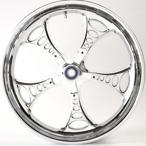 3D Cut Chrome Jackpot Wheel For 14-18 Touring