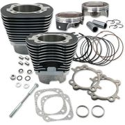 """S&S Cycles 4 1/8"""" Bore Cylinder w/ Piston Kit 2007-2017 Twin Cam"""