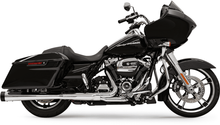 DNT Megaphone Slip-On Mufflers Chrome w/ Black Tips