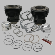 "80"" 3-1/2"" Bore Cylinder and Standard Compression Piston Kit for 1979-'84 80"" HD® Big Twins - Gloss Black Finish"