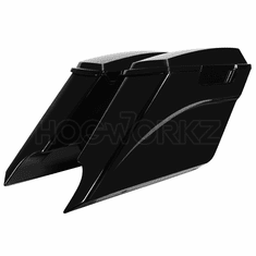 '94-'13 Drop-Out Stretched Saddlebags Vivid Black