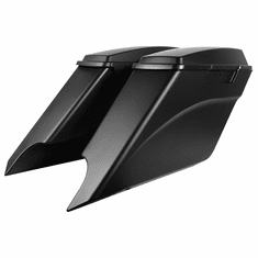 '94-'13 Harley Touring Drop-Out Stretched Saddlebags UNPAINTED