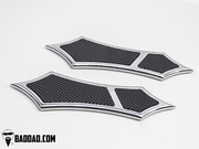 966 Front Floorboards - Chrome