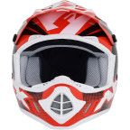 AFX - FX-17 Helmet - Holeshot - Red/Black/White