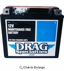 AGM Maintenance-Free Battery YTX20HL BSFT