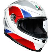 AGV  K-6 Hyphen White/Red/Blue