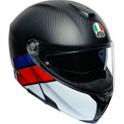 AGV Sport Modular Carbon/Red/Blue