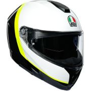 AGV Sport Modular Carbon/White/Yellow Fluo