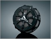 Alley Cat Air Cleaner in Black