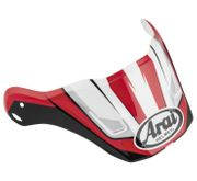 Arai XD4 Replacement Visors-Flare Red