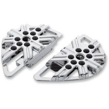 Adjustable Passenger Boards - 10 Gauge - Chrome