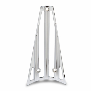 Arlen Ness 10-Gauge Frame Grill - Chrome