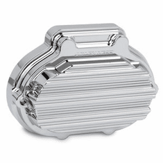 Arlen Ness 10-Gauge Transmission Side Cover - Chrome