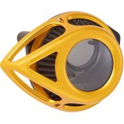 Arlen Ness Clear Tear Air Cleaner- Anodized Gold
