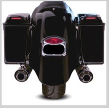 Arlen Ness Duck Tail Rear Fender Kit with Taillight