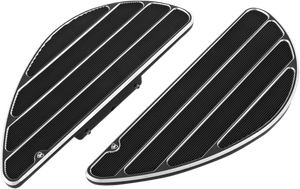 Arlen Ness Fusion Ring Leader Floorboards in Black