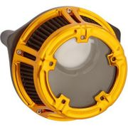 Arlen Ness Method Clear Series Air Cleaner- Anodized Gold