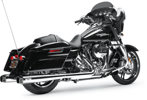 Arlen Ness Redline 4 1/2 in. Slip-On Mufflers in Chrome