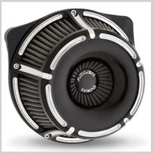 Arlen Ness Slot Track Air Cleaner-Black